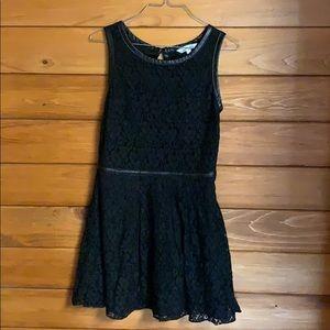 Gorgeous black lacy dress/ juniors size 9